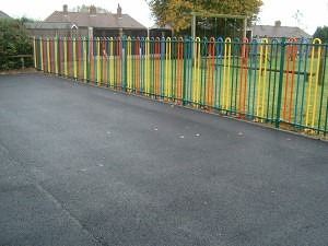 Schools and playground tarmac surfacing and resurfacing